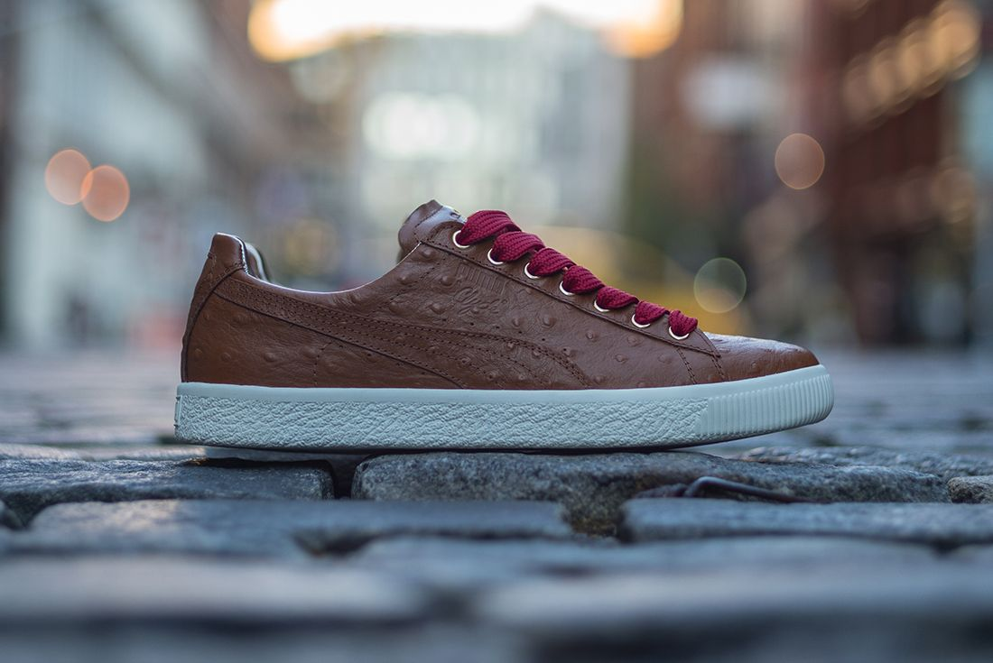 Sole Dxb X Puma Clyde Swag