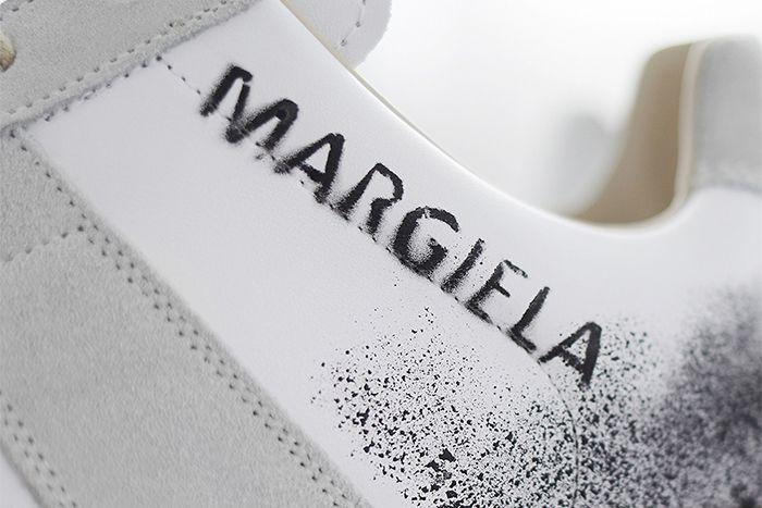 End Maison Margiela Replica Sneaker Graffiti Release Date Tag