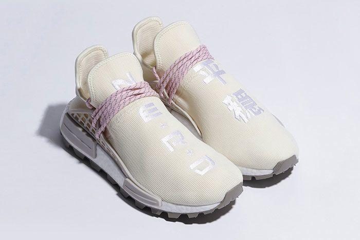 Adidas Nmd Hu Pharrell Nerd White 2