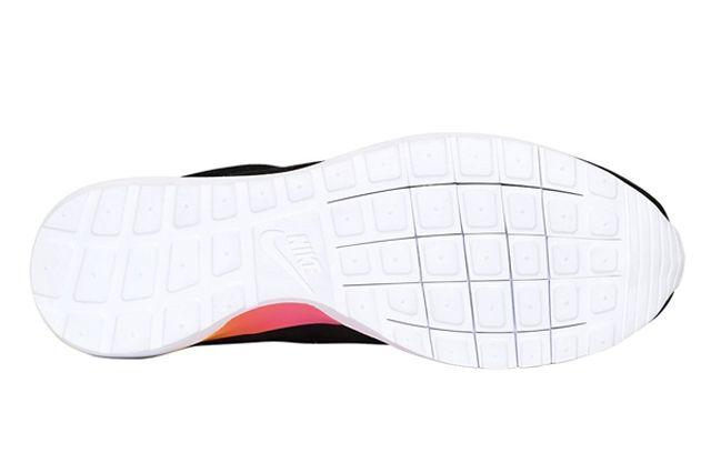 Nike Roshe Run Nm Woven Black Suede Rainbow Sole 5
