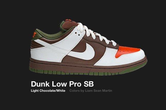 Nike Dunk Low Sb Light Choc White 2005 1