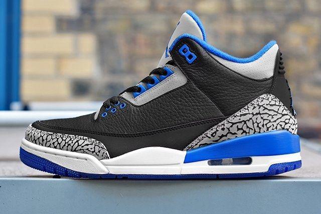 Air Jordan 3 2014 Sport Blue Retro 1