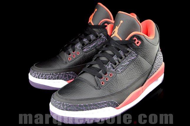 Air Jordan 3 Bright Crimsom Pair 2013 1