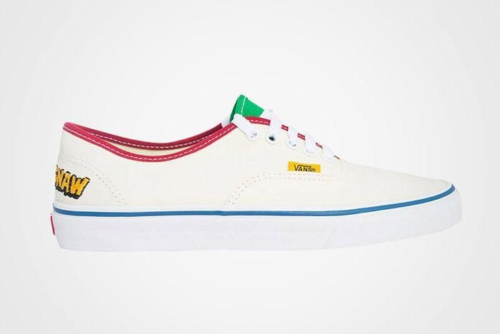 Golf Wang X Vans Authentic Flog Gnaw A