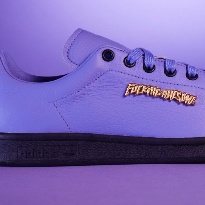 Fucking Awesome X Adidas Skateboarding Leak Sneaker Freaker1 Purple