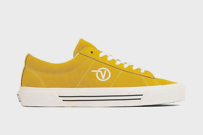 Vans Sid Anaheim Yellow Lateral