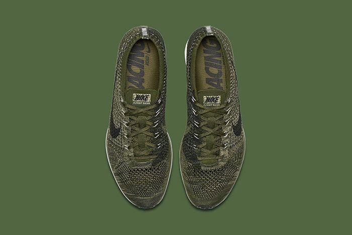 Nike Flyknit Racer Rough Green 3