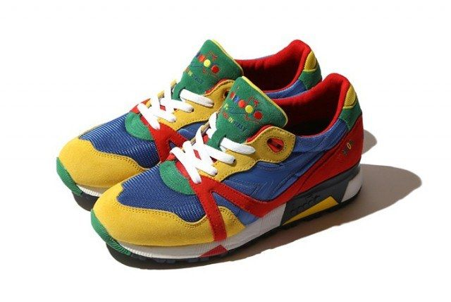 Beams X Diadora N9000 Rainbow6 640X428
