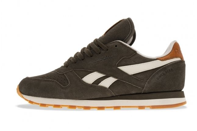 Reebok Classic Leather Charcoal 1