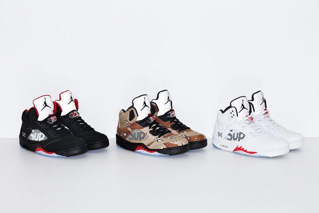 Supreme X Jordan 5 3