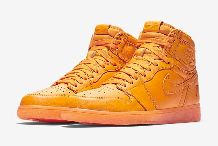 Gatorade X Air Jordan 1 Orange Peel Official Images