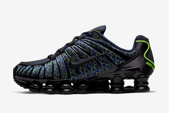 Nike Shox Tl Just Do It Ct5527 400 Lateral