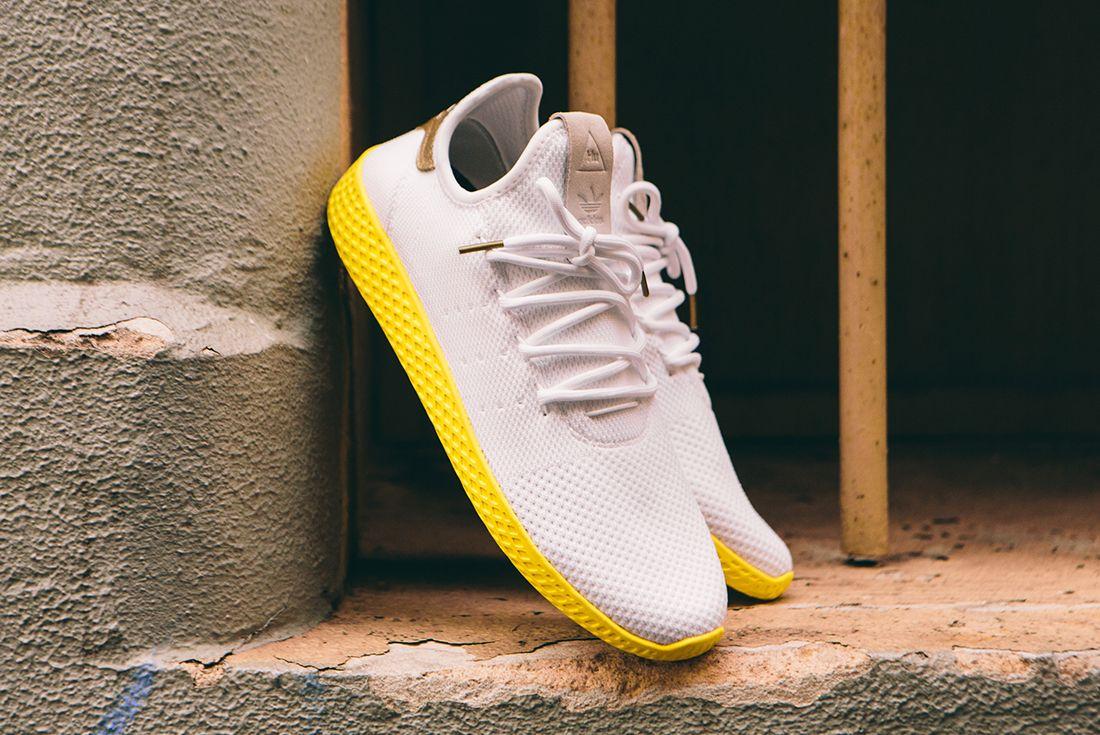 Pharrell Williams X Adidas Tennis Hu Gold11