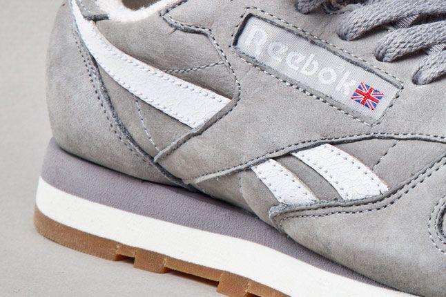 Reebok Classic Leather Vintage Racing Grey Side 1