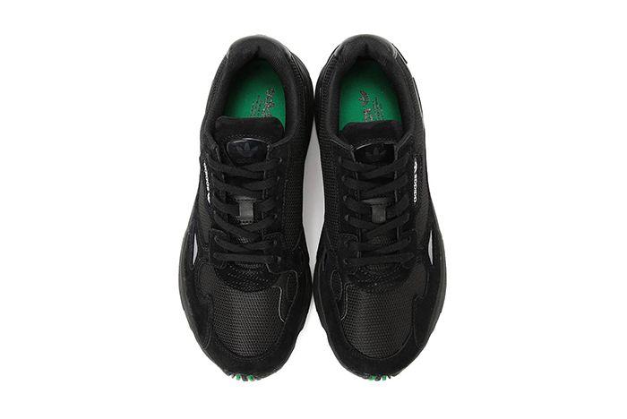 Beams Adidas Falcon Black Green 2