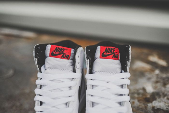 Nike Air Jordan 1 Retro High Og Bg White 6