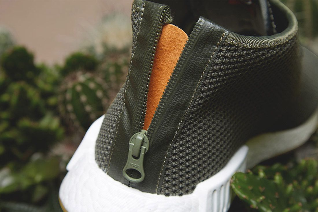 Adidas End Sahara Nmd C1 Green 1
