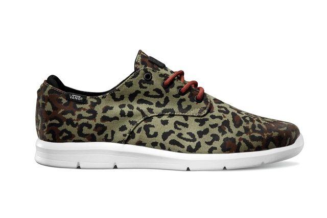 Vans Otw Collection Prelow Leopard Camo Olive Black Holiday 2013