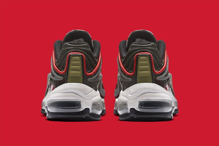 Nike Air Max Deluxe Grey Red 5
