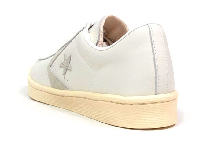 Converse Pro Leather Low 76 Ox Limited Edition White Tan 2