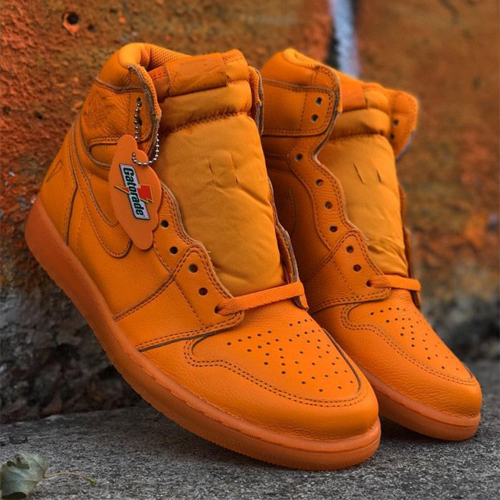 Air Jordan 1 High Og Gatorade Orange Peel Sneaker Freaker