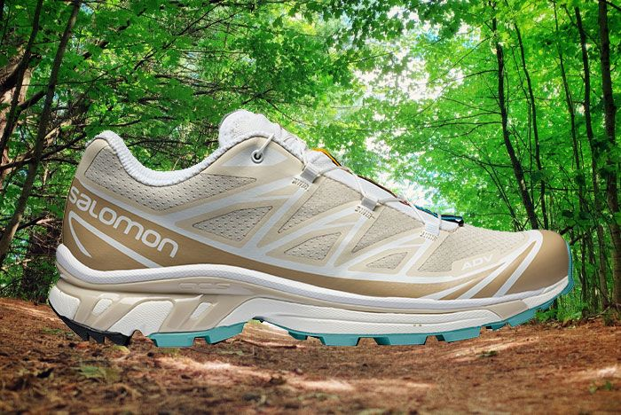 Salomon Xt 6 Adv Ltd Bleached Sand Lateral