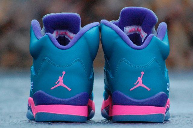 Air Jordan 5 Gs Tropical Teal
