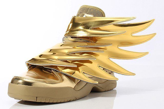 Adidas Originals By Jeremy Scott Wings 3 Gold