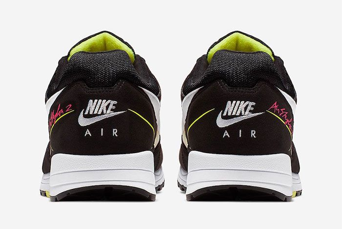 Nike Air Skylon 2 Pink Orange Heel