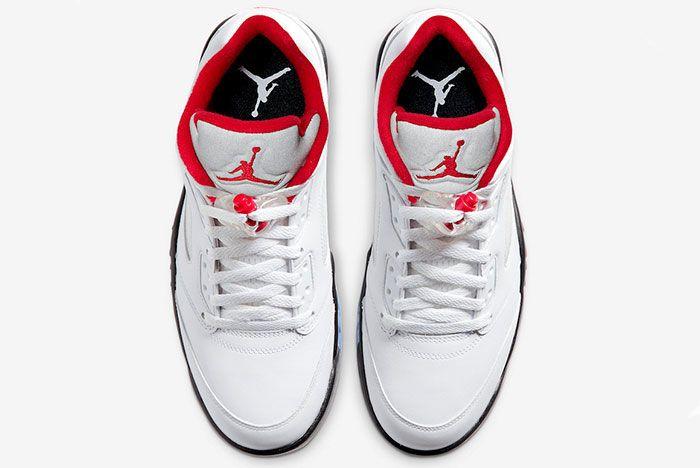 Air Jordan 5 Low Golf Fire Red Cu4523 100 Release Date Price 3 Official
