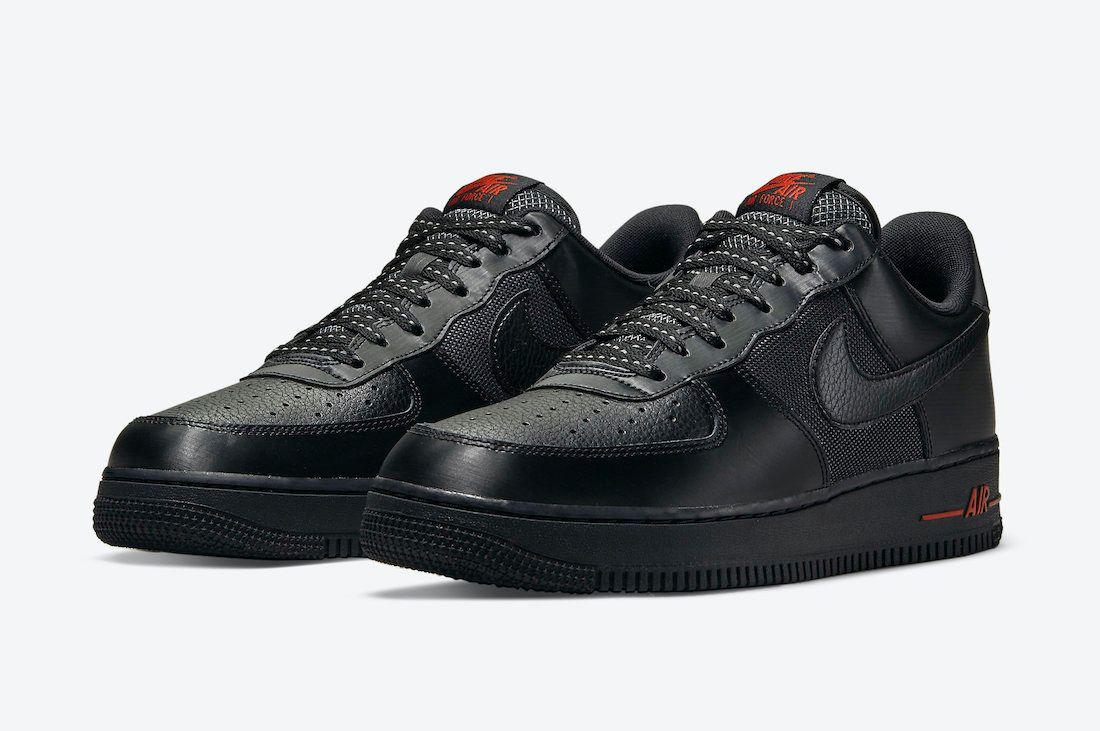 Nike Air Force 1 (Black Ballistic)