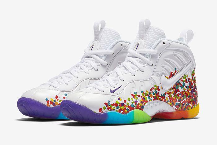 Nike Little Posite Pro Fruity Pebbles1