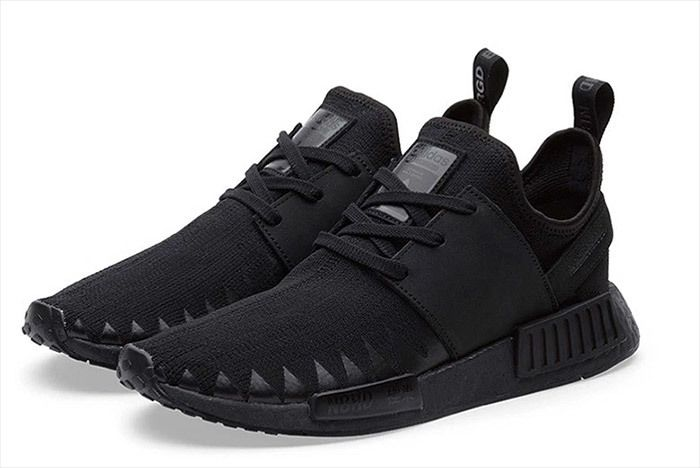 Adidas Neighborhood Nmd Triple Black 6