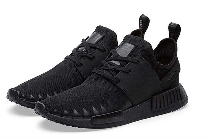 Adidas Neighborhood Nmd Triple Black 6