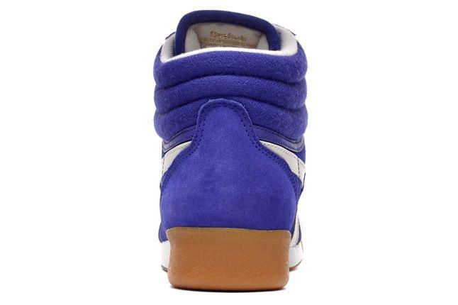Reebok Freestylehi Suede Blue Heel Profile 1