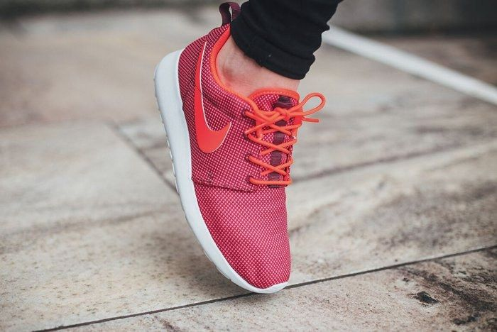 Nike Roshe One Red Orange 3