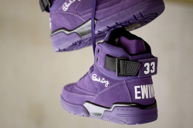 Ewing Athletics 330Hi Purple Suede 4