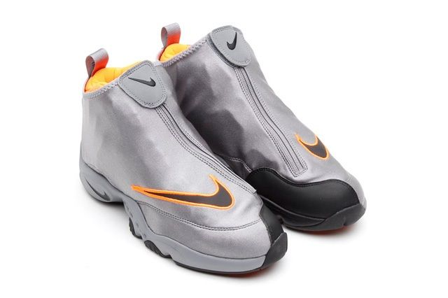 Nike Zoom Air Flight The Glove Coolgrey Total Orange 1