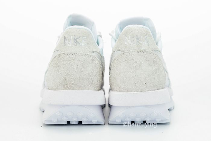 Sacai X Nike Ldwaffle White Heel