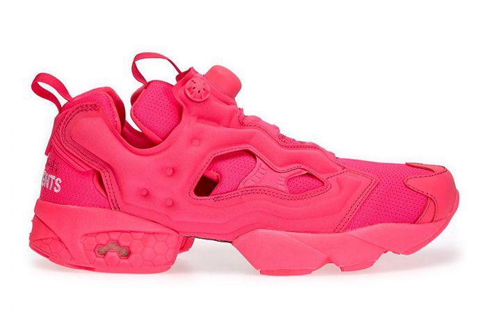 Vetement Reebok Neon Pump Pink 1