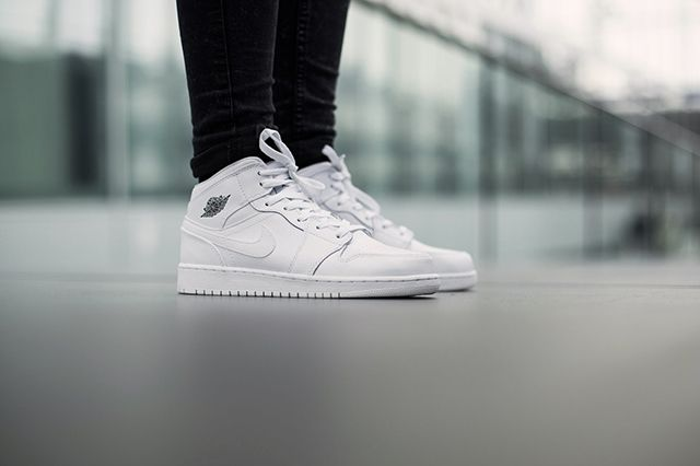 Air Jordan 1 Bg White Cool Grey 4