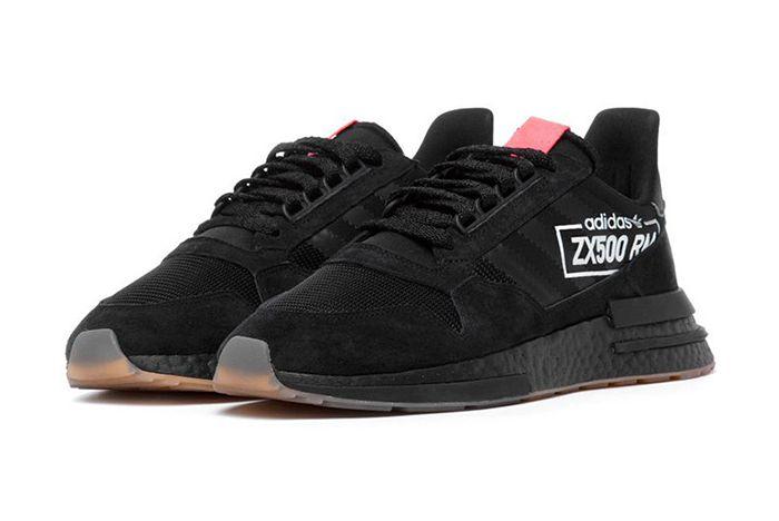 Adidas Zx 500 Rm Core Black Big Logo 1
