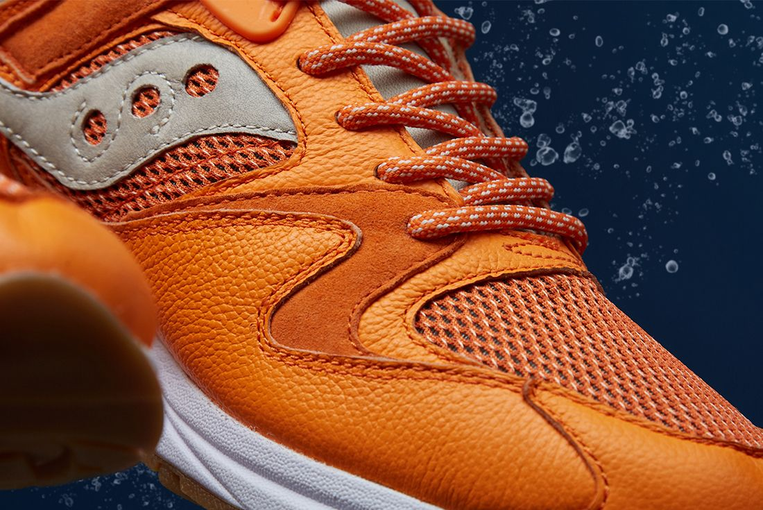 End X Saucony Grid 8500 Lobster 4