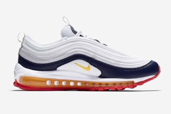 Nike Air Max 97 Laser Orange Medial