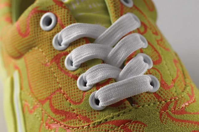 Puma Mihara Yasuhiro 61 Uncamo Yellow Lace Detail 1