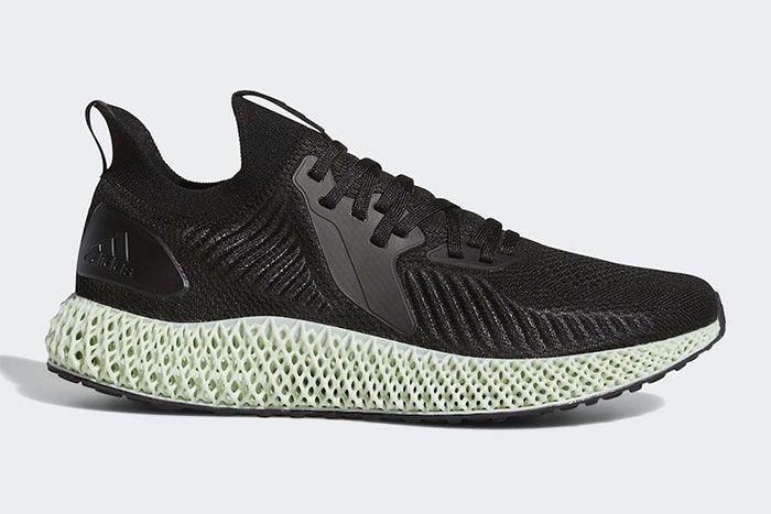 Adidas Alphaedge 4 D Black Right