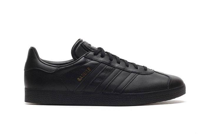 Adidas Gazelle Black Leather 3