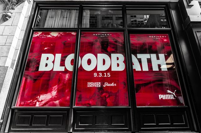 ' Bloodbath' Nyc Pop Up Shop Release Details4
