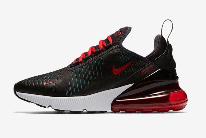 Nike Aur Max 270 Black Red 2