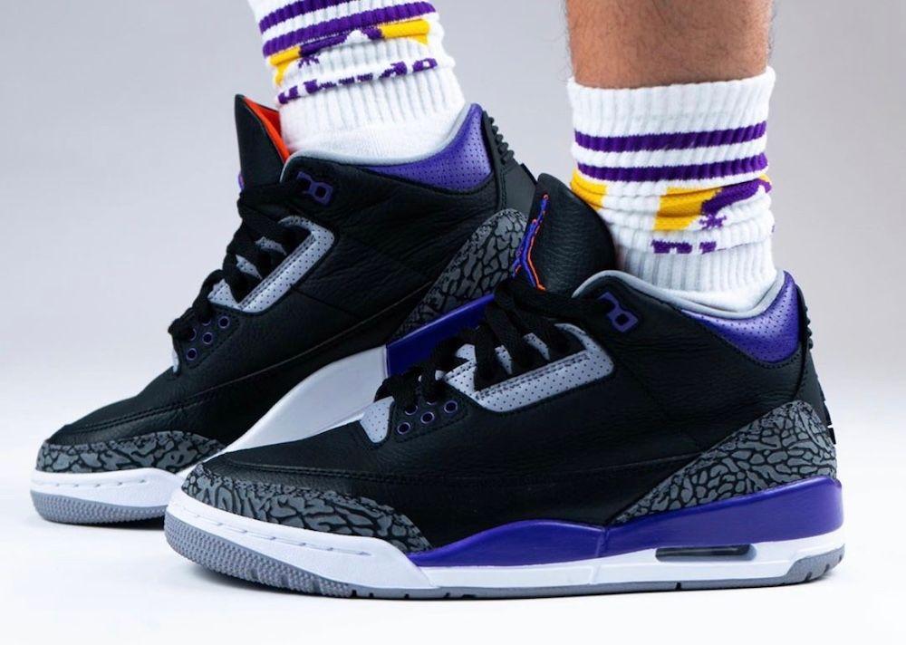 Air Jordan 3 'Court Purple'